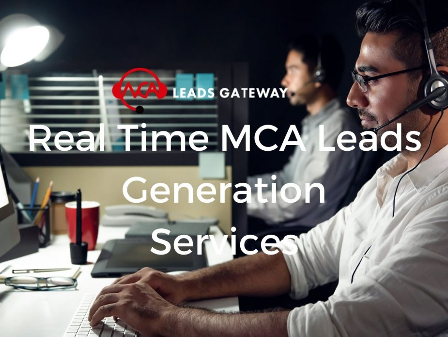 Real Time MCA Leads Generation Services