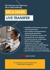 MCA Leads from MCA Leads Gateway