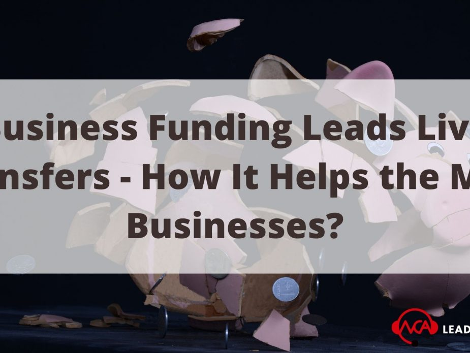 Business Funding Leads